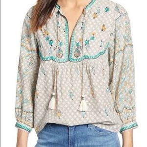 🎄2/$90🎄NWT LUCKY Brand Blouse